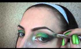 Emerald Glow - Makeup tutorial (St.Patrick's Day makeup)