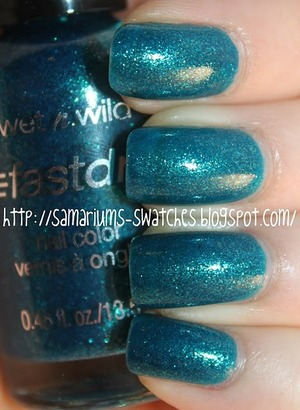 http://samariums-swatches.blogspot.com/2011/09/wnw-teal-of-fortune-chg-techno-teal-for.html