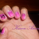 Pink Purple Heart Gradient