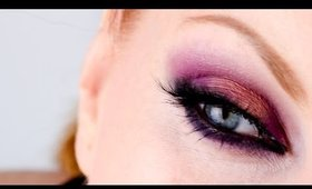 Dark Purple/Coppery Smoky Eyes (July Vlogging - Day 2)