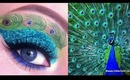 Peacock Makeup Tutorial