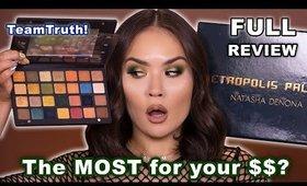 WHO DIS? NATASHA DENONA METROPOLIS PALETTE REVIEW + SWATCHES | Maryam Maquillage