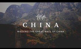 China   Trekking The Great Wall of China   Travel Vlog