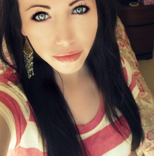 taken when i had black hair, but i still like the picture :)