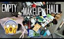 MAKEUP EMPTIES EMPTY PRODUCT HAUL TOO MUCH ISH | Benefit, NYX, Urban Decay, & MORE