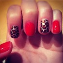 Hanna's Inspired Leopard Nails - Pretty Little Liars