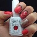 Coral spring nails