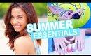 Summer Essentials 2015 Outfit & Makeup | Thalita Makes