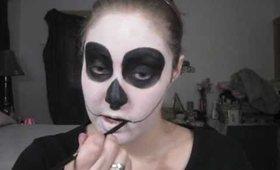 Dia de los muertos - Day of the Dead Sugar Skull Tutorial Part 1 - The Eyes Have It