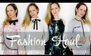 FASHION HAUL with TRY ON  I BeautifulYouTV