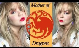 Mother of Dragons | Game Of Thrones Makeup