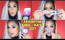 FAVORITOS DE ABRIL - MAYO 2017 / Favorites of April May 2017 | auroramakeup