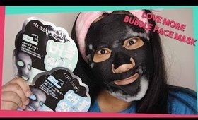 Review | Love More Bubble Mask | Skincare