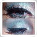 mermaid aqua eye makeup