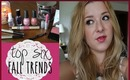 Top 6 Fall Trends