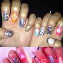 Colourful Nail Design