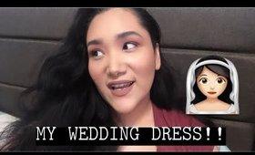 MY AFFORDABLE WEDDING DRESS!! UNDER $150!!