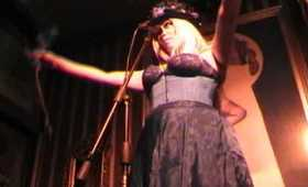 """Lady Zombie performs """"Forest of the Black Roses"""" at Nurse Bettie (7.20.11)"""