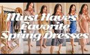 favorite spring dresses 2020 must haves / styling dresses ✖︎ EverSoCozy