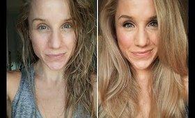 My Christmas Party Makeup | Watch Me Get Ready | Primp Powder Pout