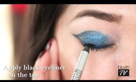 How-To: Colorful Smoky Eyes