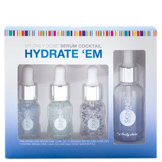 Skin Inc Supplement Bar Custom-Blended Hydrate 'Em Set
