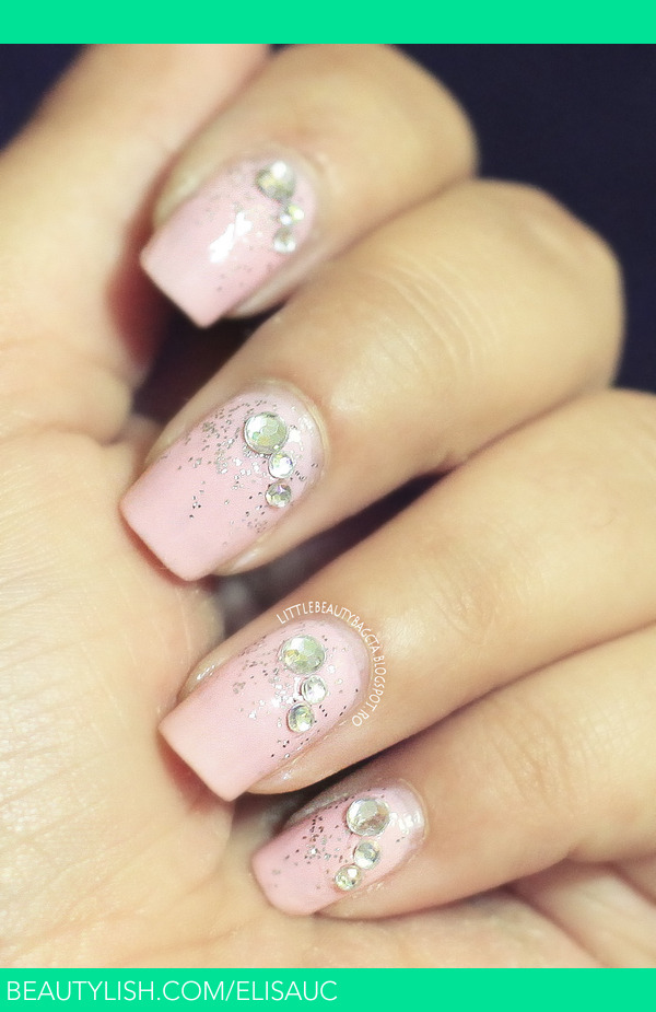 Soft Pink Jewel Nails Elisa Us Elisauc Photo Beautylish