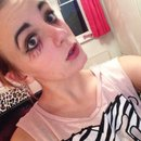 Scary school girl makeup