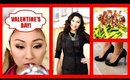 Valentine's Day Get Ready With Me! Makeup, Hair, Outfit & Dinner Idea!