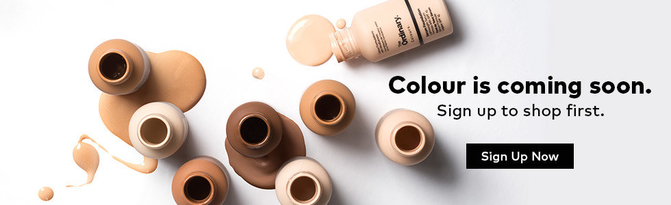 The Ordinary Colours are coming soon.