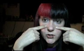 I dyed my hair and stretched my septum!