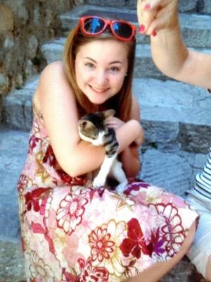 A kitten I found in Dubrovnik :D