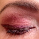 pink/coral/purple eye