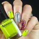 Colourful Nail Art