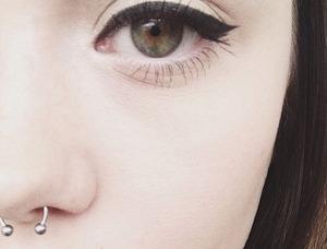 Simple winged eye