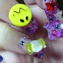 Decoration colorful nail no.2