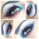 Crystallized lashes!