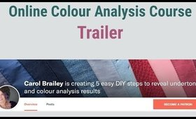 Online Colour Analysis Course  5 Steps to Find Undertone and Colour Analysis Results Inside Look