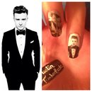 Justin Timberlake Nails