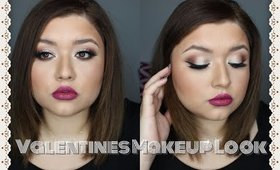 Valentines Makeup Look| JulieMacias♡