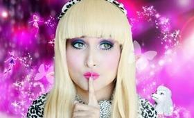 BARBIE Inspired Look/Transformation Makeup