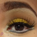 Bright Yellow Eye Look