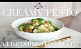 Mr Organic Creamy Pesto Vegetable Tortellini (Vegan) AD   JessBeautician