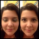 Christmas makeup for my sister in law by me