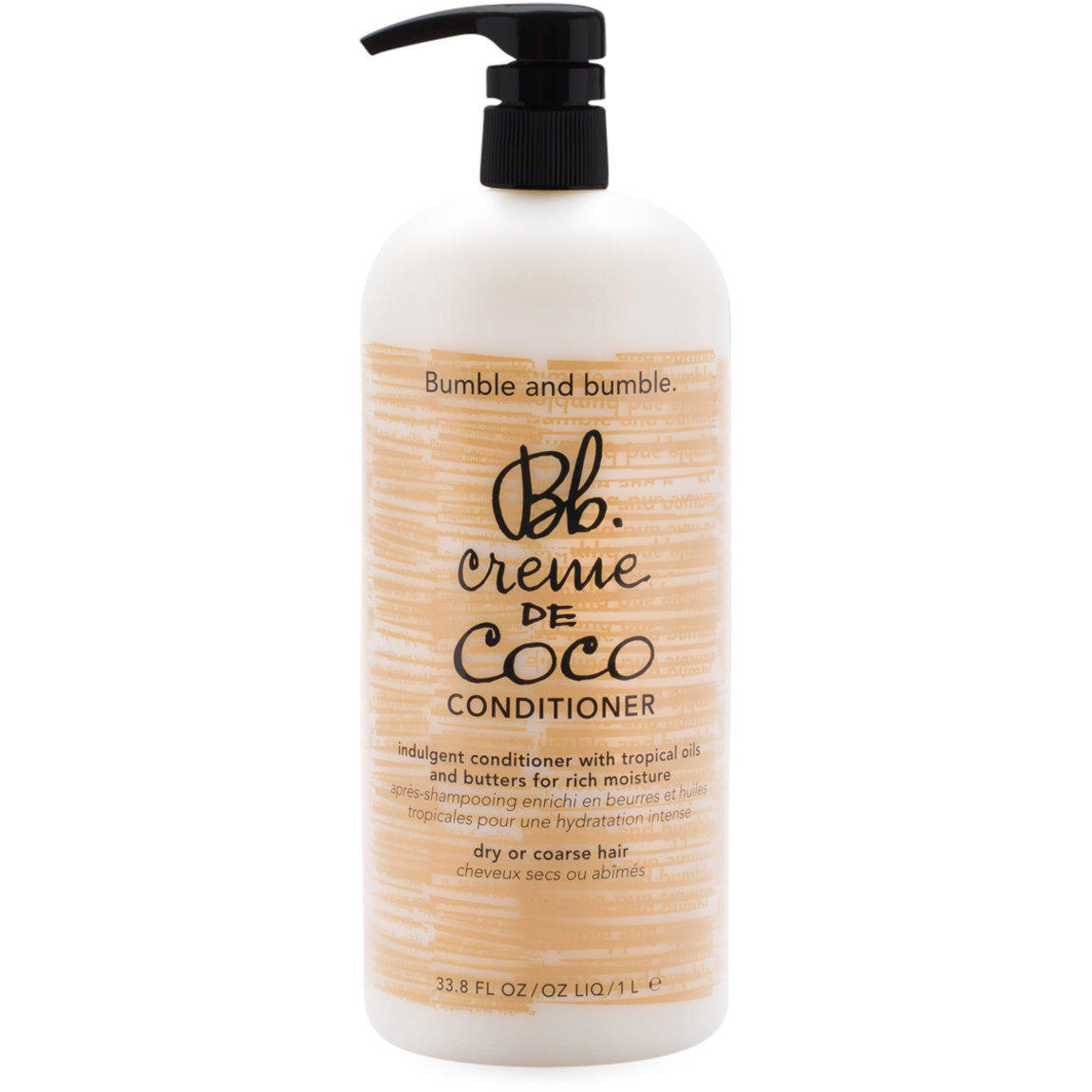 Bumble and bumble. Creme de Coco Conditioner 1 L alternative view 1 - product swatch.
