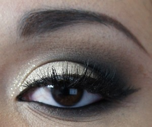 Smoky Eye Look for New Year's Eve.