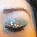 Work look with a bit of sparkle