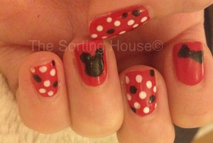 My entry for the 31 Day Nail Art Challenge - Day 11