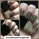black latte Houndstooth/Dogtooth