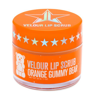 Velour Lip Scrub Orange Gummy Bear
